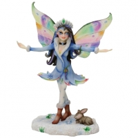 Figurine Fée Linda Biggs Snow Queen Fairysite