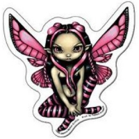Magnet Fée Jasmine Becket Griffith Hovering At Twilight