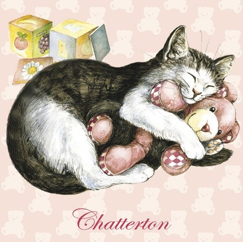 "Magnet Chat ""Chatterton"" / Magnets Féeriques"