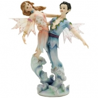figurine couple de fées devonise faerie glen