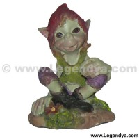 mini figurine de pixie