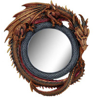 miroir dragon