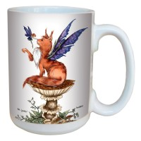 Mug Amy Brown Be Good Cat and Fairy LM43610