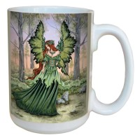 Mug Amy Brown Lady of the Forest LM43558