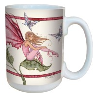 Mug Amy Brown Pink LM43588