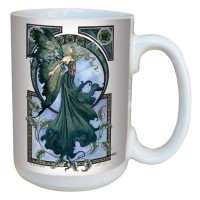 Mug Amy Brown The Green Faerie LM43572