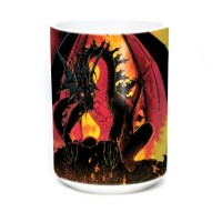 Mug Dragon Fireball