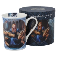 Mug Anne Stokes Fierce Loyalty