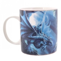mug elfe et dragon water dragon de anne stokes