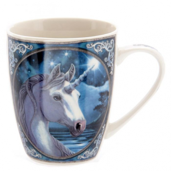 "Mug Licorne ""Unicorn Night"" / Lisa Parker"