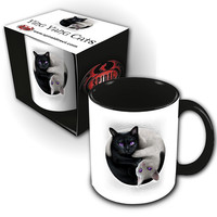 Mug Yin Yang Cats Spiral Direct