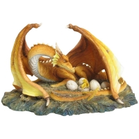 figurine de dragon avec dragonnets