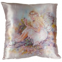 coussin fée crisalis Christine Haworth Secret Dell