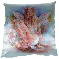 coussin fée crisalis Christine Haworth Honeysuckle Faerie