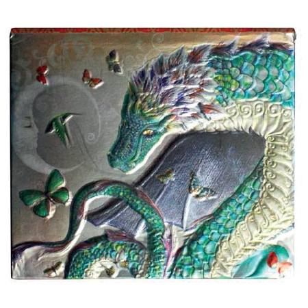 "Petit Notes-Book ""Oriental Dragon"" / Papeterie Dragons"