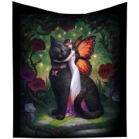Plaid James Ryman Cat and Fairy