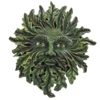 applique murale greenman GOTH06