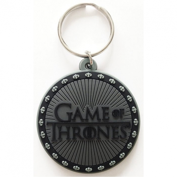 "Porte-Clefs caoutchouc Game of Thrones ""Logo"" / Game of Thrones"