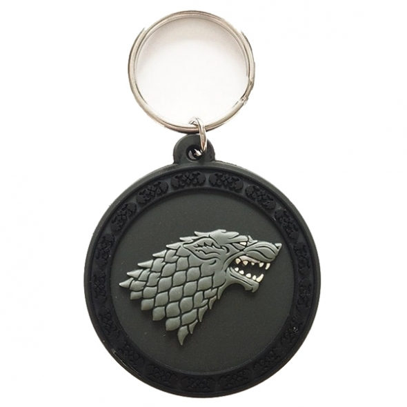 "Porte-Clefs caoutchouc Game of Thrones ""Stark"" / Game of Thrones"