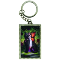 Porte-Clefs 3D James Ryman Cat and Fairy