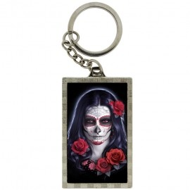 "Porte-Clefs 3D ""Sugar Skull"" / James Ryman"