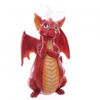 Porte-Encens Dragon Rouge