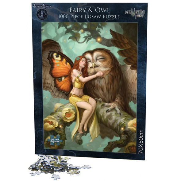 "Puzzle ""Fairy and Owl"" / James Ryman"