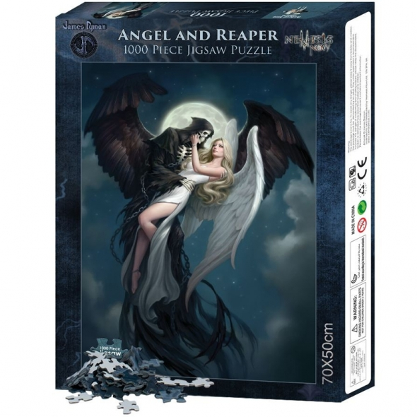 "Puzzle ""Angel and The Reaper"" / Puzzles Féeriques"