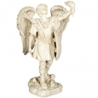 Statuette Archange Uriel Angel Star