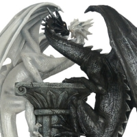 Statuette Dragons Géants