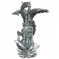 Figurine Dragon noir géant Black Terror