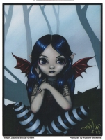 Sticker Fée Jasmine Becket Griffith Lost but not worried AD507