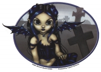 sticker fée Gothling de jasmine becket griffith
