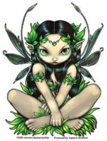 sticker fée allura de jasmine becket griffith