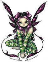sticker fée captive fairy de jasmine becket griffith
