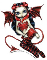 sticker fée devilish fairy de jasmine becket griffith