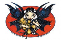 sticker fée fairy voodoo de jasmine becket griffith