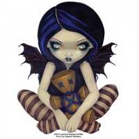 sticker fée Voodoo in Blue de jasmine becket griffith