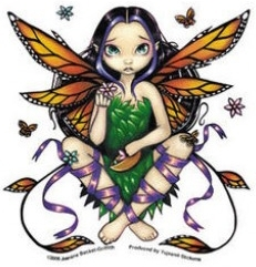 "Sticker Fée ""Fairy at Sunset"" / Jasmine Becket-Griffith"