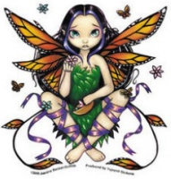 Sticker Fée Jasmine Becket Griffith Fairy at Sunset AD804
