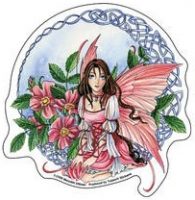 sticker fee meredith dillman Celtic Wild Rose Fairy AD756
