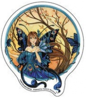 sticker fee meredith dillman Peacock Fairy AD757