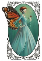 Sticker Fée Rachel Anderson Monarch Fairy AD908