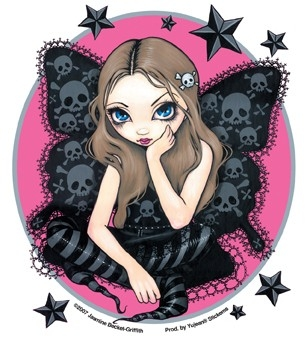 "Sticker Fée ""Stars and Fairy"" / Jasmine Becket-Griffith"