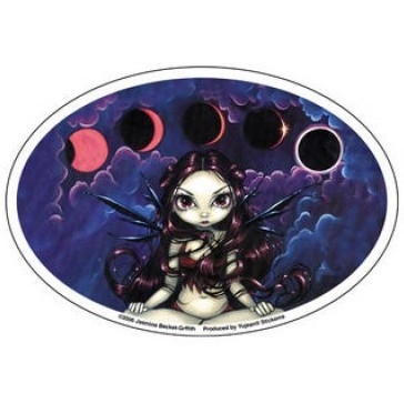 "Sticker Fée ""Invoking the Eclipse"" / Strangeling Fairies"