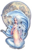 sticker sirene moon mermaid de selina fenech