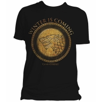 T-Shirt Game of Thrones Gold Stark INDIE0111