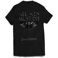 T-Shirt Game of Thrones All Men Must Die INDIE0207