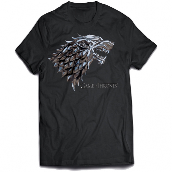 "T-Shirt Game of Thrones ""Chrome Stark"" - S / Vêtements - Taille S"