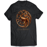 T-Shirt Game of Thrones Chrome Targaryen INDIE0227